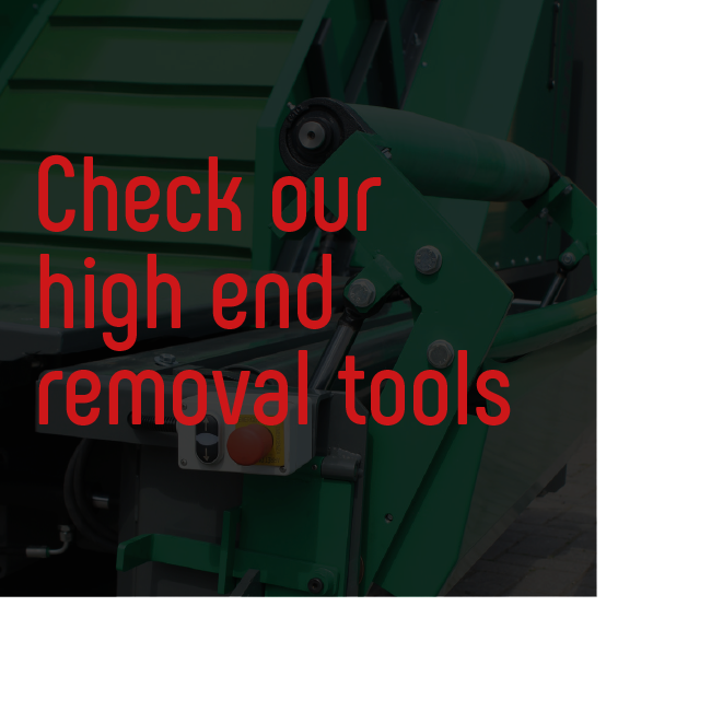 Bio Bull Check our high end removal tools