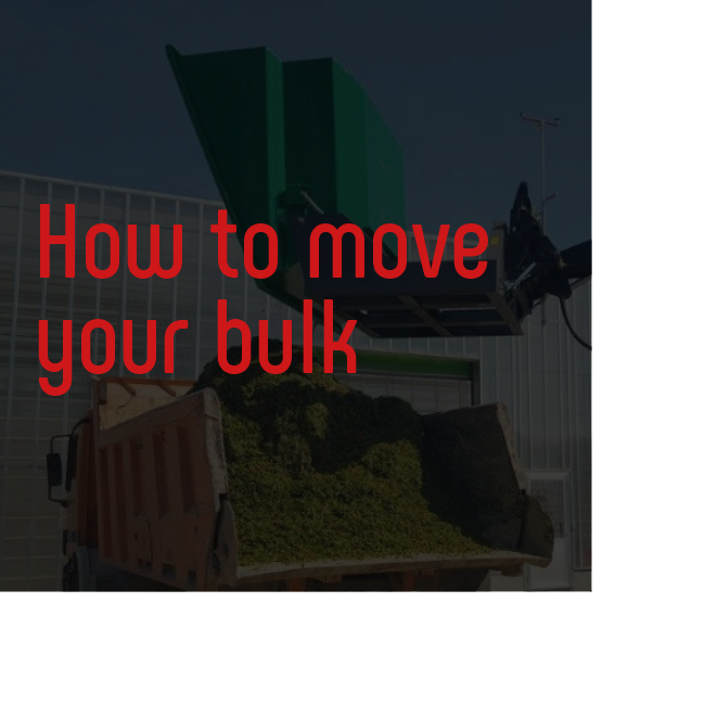 Bio Bull How to move your bulk